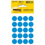 Etiqueta Pimaco TP19 Codificação Azul 19mm 200un