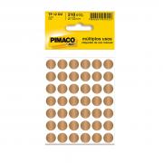 Etiqueta TP12 Multiuso Manual Ouro 5 Folhas Pimaco