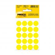Etiqueta TP19 Multiuso Manual Amarela 10 Folhas Pimaco