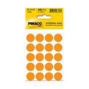 Etiqueta TP19 Multiuso Manual Laranja 10 Folhas Pimaco