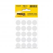 Etiqueta TP19 Multiuso Manual Transparente 5 Folhas Pimaco