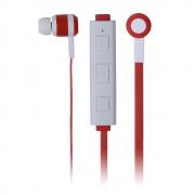 Fone de Ouvido Maxprint Bluetooth Freedom Branco e Vermelho 601229-2