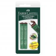 Grafite 0,5mm HB Faber Castell 2 Tubos
