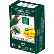 Grafite 0,7mm B Faber Castell 12 Tubos