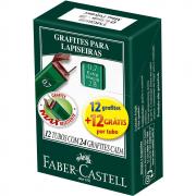 Grafite 0,7mm HB Faber Castell 12 Tubos