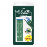 Grafite 0,7mm HB Faber Castell 2 Tubos