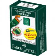 Grafite 0,9mm 2B Faber Castell 12 Tubos