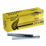 GRAMPO 26/6 GOLDEN KRAFT C5000UN GALVANIZADO