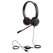 HEADSET JABRA EVOLVE 30 II UC DUO USB 5399-829-309