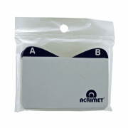 Índice A/Z Cartão Visita Acrimet 630.0