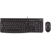 Kit Wired Teclado e Mouse Logitech MK120
