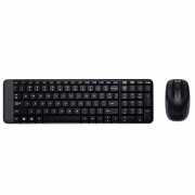 Kit Wireless Mouse e Teclado MK220 Logitech