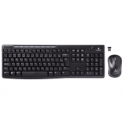 Kit Wireless Teclado e Mouse Logitech MK270