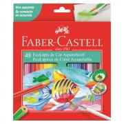 Lápis de Cor 48 Cores Aquarelável Faber Castell