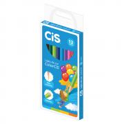 Lápis de Cor CIS 12 Cores Redondo ColorCIS