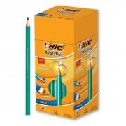 Lápis Nº2 Preto Redondo Evolution Caixa com 72 unidades Bic