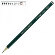 Lápis Técnico Faber Castell Preto Regent 9000-2H