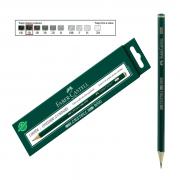 Lápis Técnico Faber Castell Preto Regent 9000-5B 12 Unidades