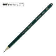 Lápis Técnico Faber Castell Preto Regent 9000-5B