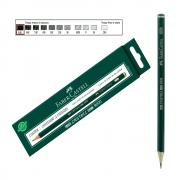 Lápis Técnico Faber Castell Preto Regent 9000-8B 12 Unidades