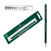 Lápis Técnico Faber Castell Preto Regent 9000-H 12 Unidades