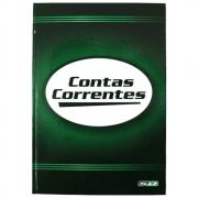 Livro Conta Corrente São Domingos 1/4 100 Folhas 154x216mm