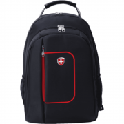 Mochila Executiva Swiss Move Street Brooklyn MB-LS965 Preta