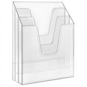 Organizador de Escritório Vertical cristal ref.864.1 Acrimet