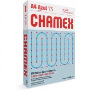 Papel Sulfite A4 Chamex Colors Azul 75G 210x297mm 500 Folhas