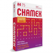 Papel Sulfite A4 Chamex Office Branco 75G 210x297mm 500 Folhas