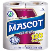 Papel Toalha Multiuso Folha Dupla 2 Rolos 20x22cm Mascot