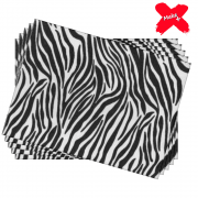 Placa E.V.A Estampado 60x40cm Zebra 05un Make+