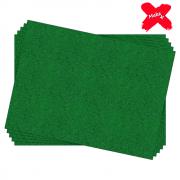 Placa E.V.A Glitter 60x40cm Verde 05un Make+