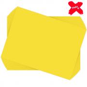 Placa E.V.A Liso 60x40cm Amarelo 10un Make+