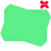 Placa E.V.A Liso 60x40cm Verde Claro 10un Make+