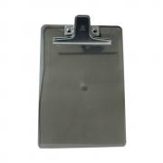 Prancheta Poliestireno ½ Ofício fumê com Clip de Metal Acrimet