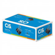 Prendendor Papel CIS 32mm 12un Preto
