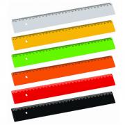 Régua Escolar Acrimet 30cm Cor Neon Sortidas Kit 06 Unidades 965.0