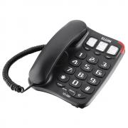 Telefone de Mesa Elgin TCF 2300 Preto