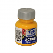 Tinta para Tecido Fosca 37ml - Acrilex