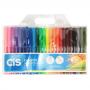 Caneta Hidrográfica CIS 24 Cores ColorCis