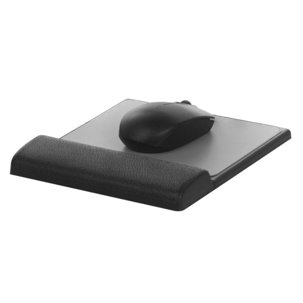 Base Mouse Apoio em Espuma Poliuretano Preto e Cinza 1001 Airm