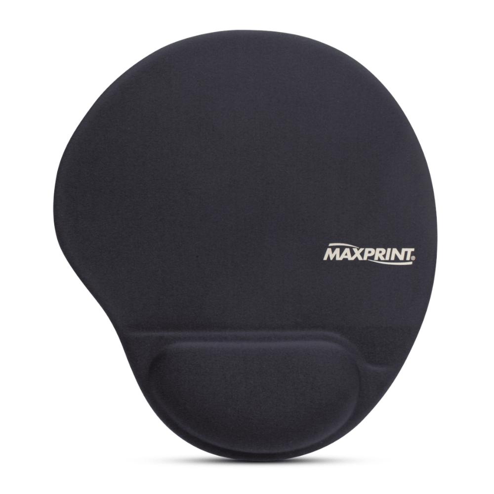 Base para Mouse Maxprint com Apoio em Gel Preto 60448-4