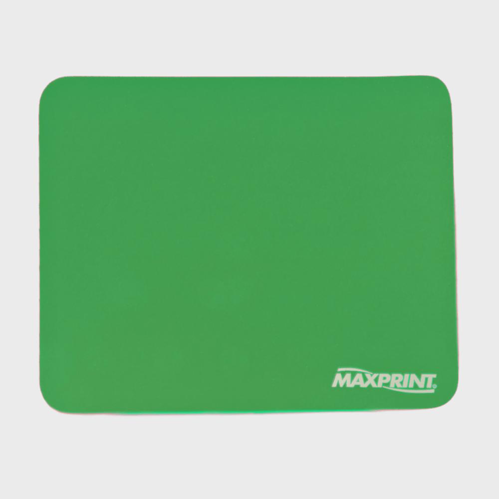 Base para Mouse Maxprint Liso Verde 60358-3