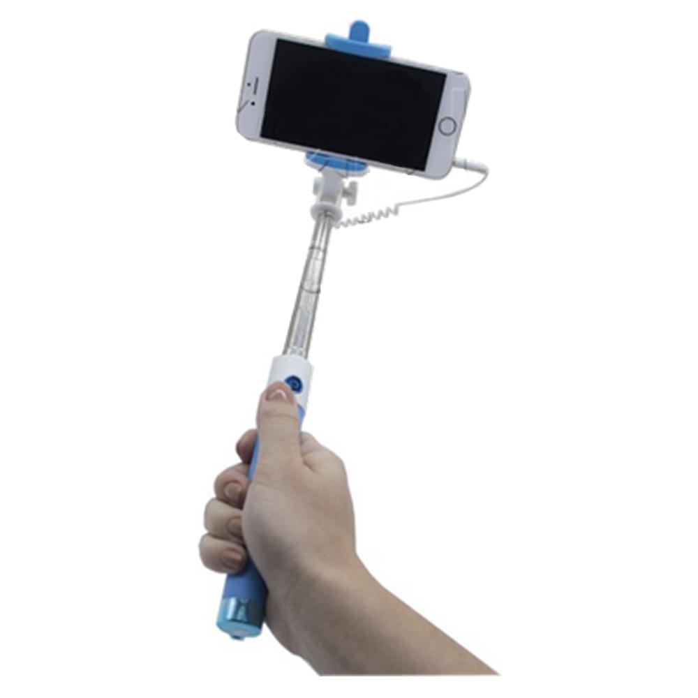 Bastão Selfie Monopod Cabo P2 Cores Sortidas