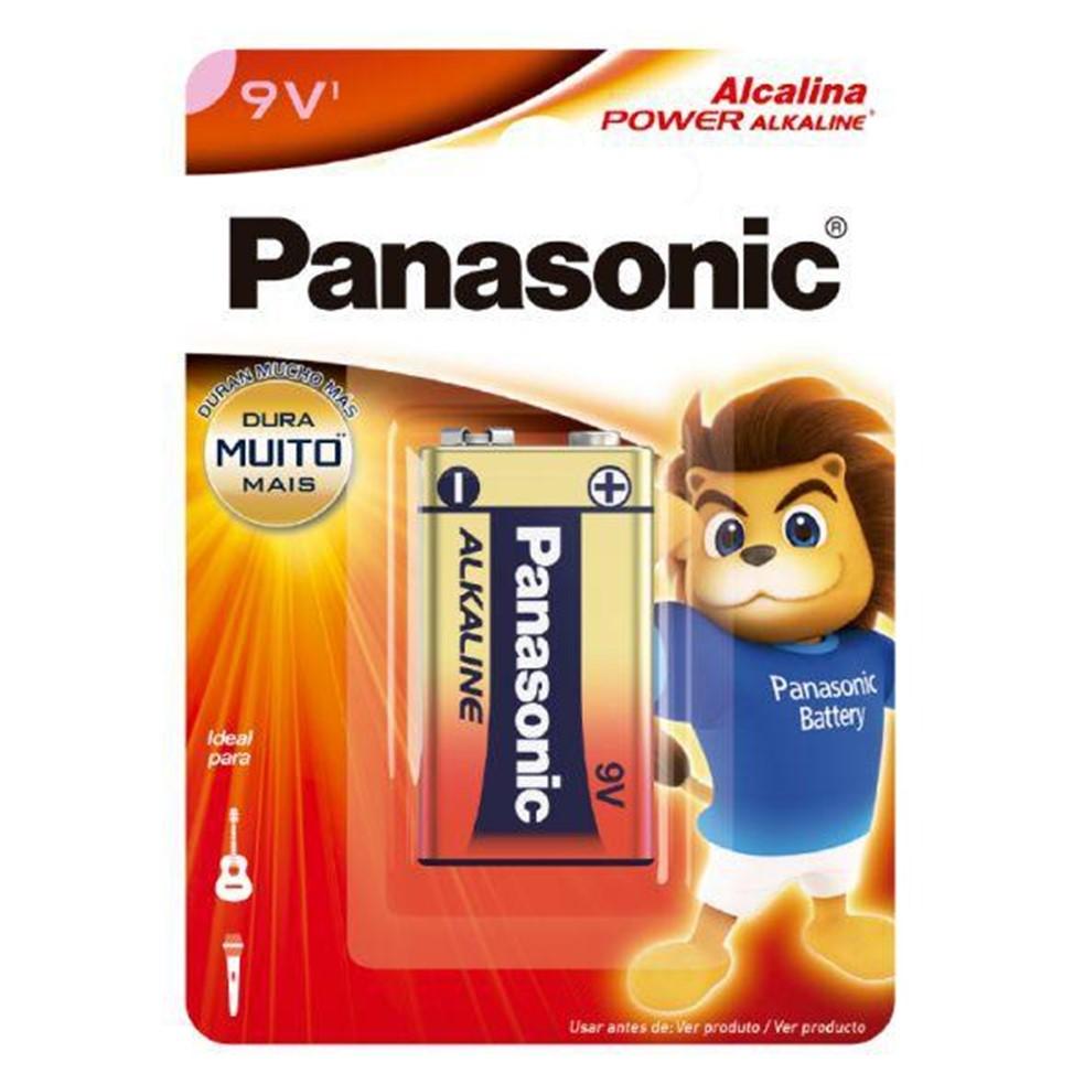 Bateria Panasonic 9V Alcalina