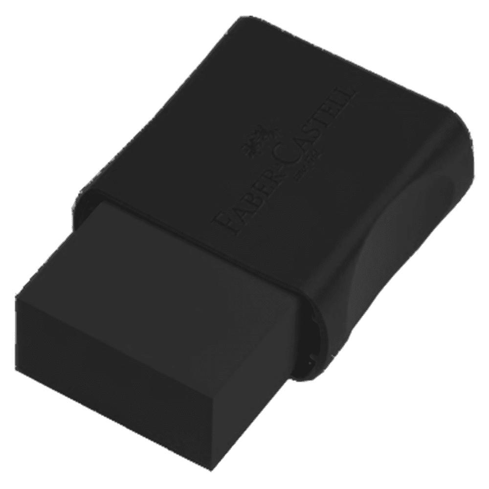 Borracha Plástica TK Pequena Preta 24 Unidades Faber Castell