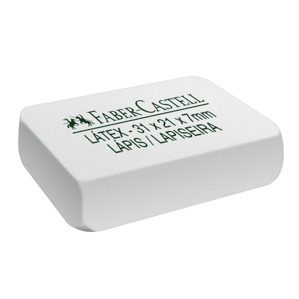 Borracha Escolar 7040 Branca 40 Unidades Faber Castell