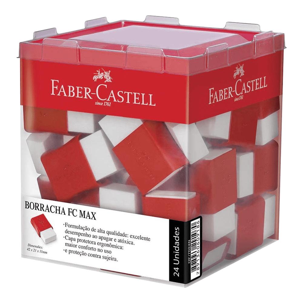 Borracha Plástica Tk Pequena 24 Unidades Faber Castell