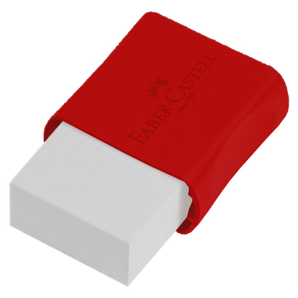 Borracha Plástica Tk Pequena Blister 2 Unidades Faber Castell
